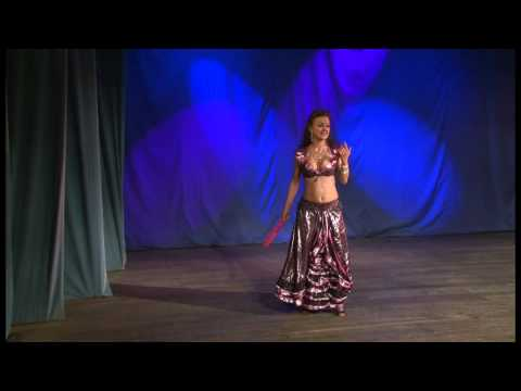 Oriental Fan Dance by Yana Dance