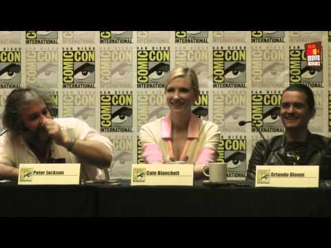 The Hobbit 3 | EXCLUSIVE official ComicCon press conference (2014) Peter Jackson