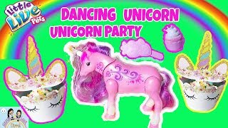LITTLE LIVE PETS UNICORN+LITTLE LIVE PETS SPARKLES DANCING UNICORN TOY REVIEW UNBOXING TOYS FOR KIDS
