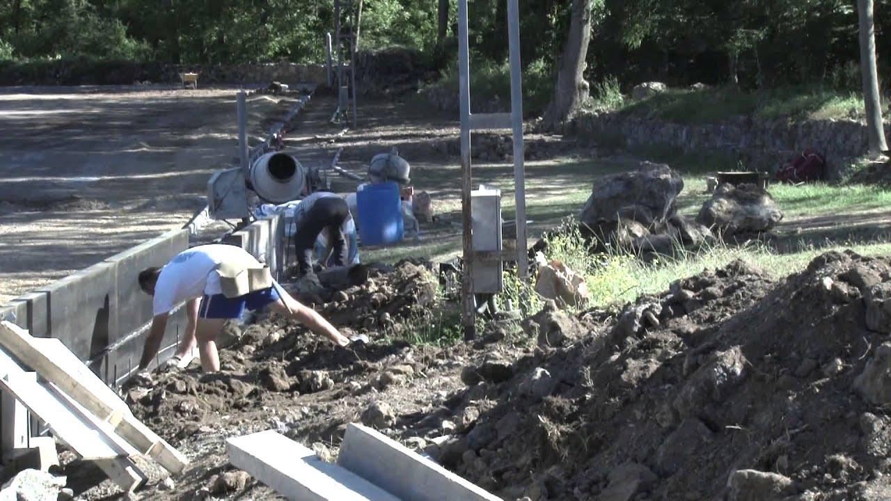 Construcci camp de gespa artificial cef bosc de tosca - Gespa artificial girona ...