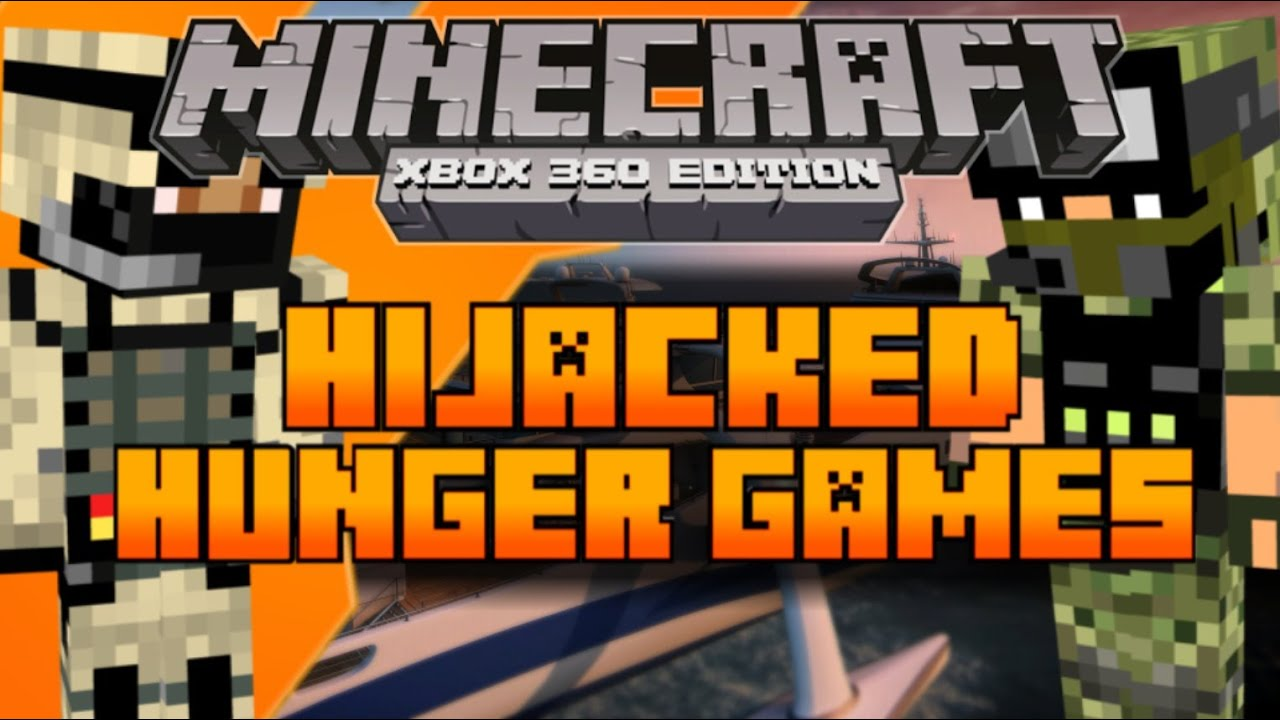 Xbox 360 Hunger Games : Minecraft xbox the hunger games map black ops