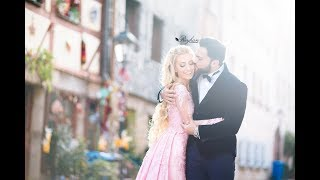Cannur ve Baris Barbie and Ken Weddingclip Photoshooting Love story Reyhan Photography Germany