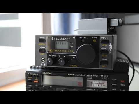 ELECRAFT K1 QRP CW TRANSCEIVER