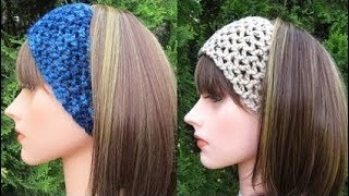 Download How to Crochet a Headband Pattern #1 │by ThePatterfamily 3Gp Mp4