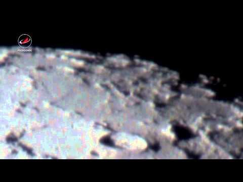 Луна через телескоп/Moon telescope