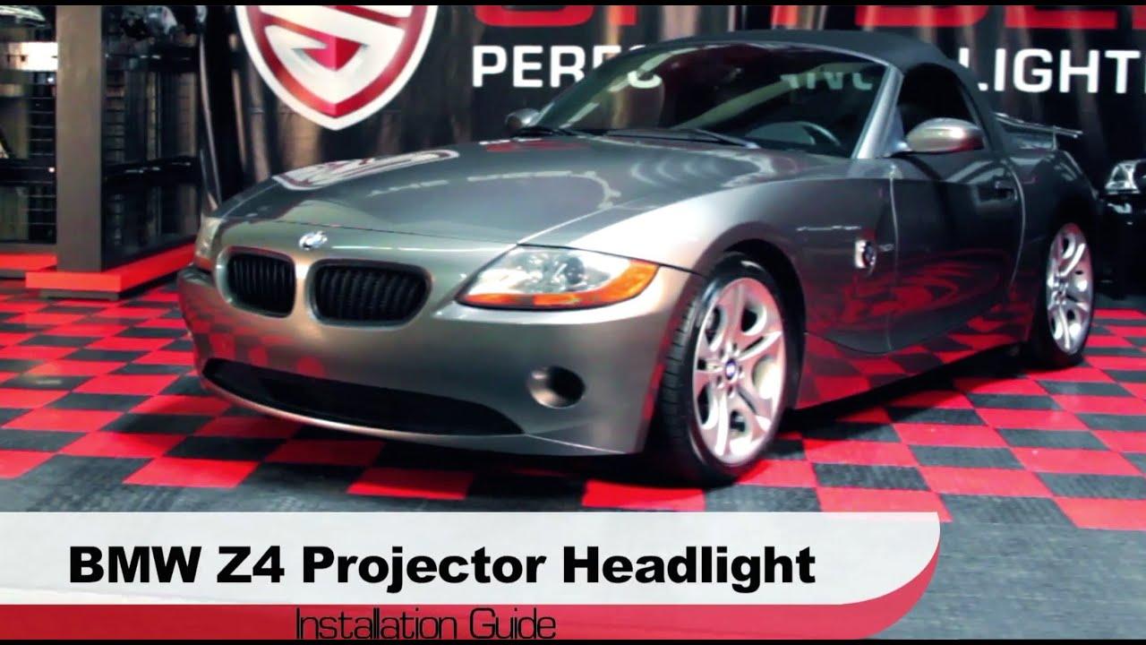 Spyder Auto Installation 2003 08 Bmw Z4 Halo Projector