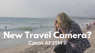 Canon AF35M ii - Historic Point and Shoot Camera   Kodak UltraMax 400 Film
