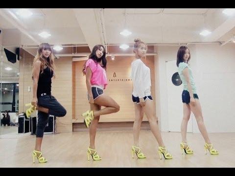 Sistar loving U choreography Practice Ver.(안무연습) video