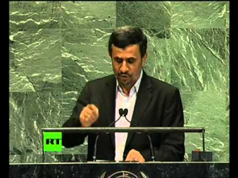 Ahmadinejad addresses UN General Assembly (Live cut version)