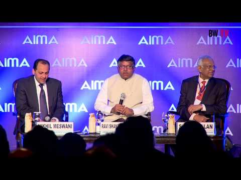 Q&A With Ravi Shankar Prasad,Minister of Law and Justice and Communicatons & Technology, GOI