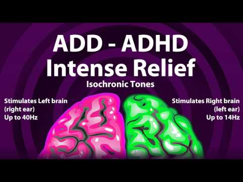 Add Adhd Intense Relief - Isochronic Tones With Orchestral Background Track video