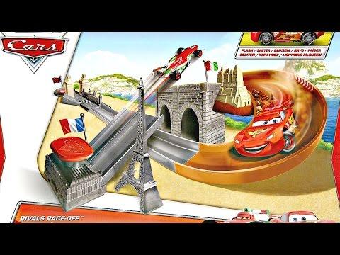 Rivals Race-Off Trackset / Tor Wyścigowy Grand Prix - Auta 2 / Cars 2 - Mattel - BGF05 - Recenzja