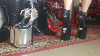 30cm heels platform 20cm leather eco end lack roz 37- 47