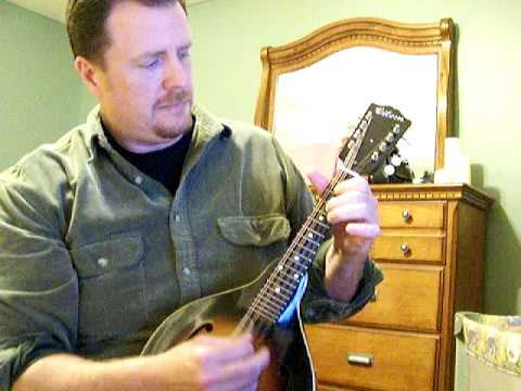 The Gold Rush on mandolin