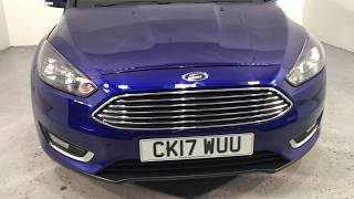Ford Focus 1.0 Ecoboost 125ps Titanium Auto For Sale At Thame Cars