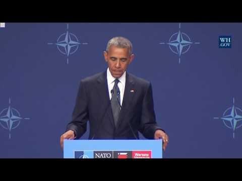 President Obama and President Duda of Poland
