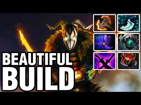 BEAUTIFUL BUILD - inYourdreaM Plays Juggernaut - Dota 2