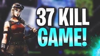 37 KILLS BY MYSELF SQUADS (SEASON 6 WORLD RECORD FORTNITE)