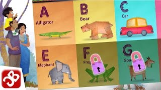 Alfie's Alphabet - ABC First Letters and Words for Children in English - KIDS Gameplay Video