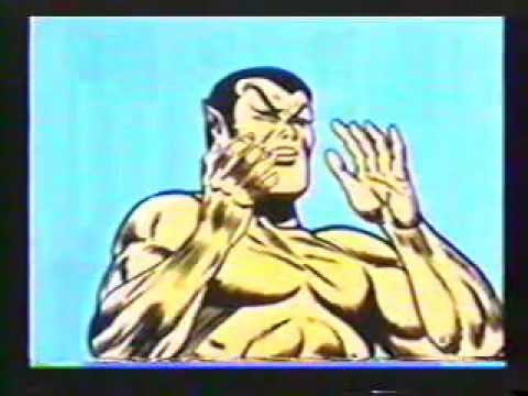 The Submariner 1960's Cartoon - The Thing From Space