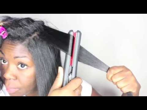 11 tips: How to get the BEST ** flat ironing ** results relaxed or natural hair