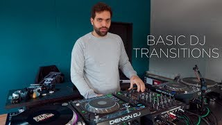 THE MOST BASIC DJ TRANSITIONS