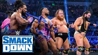 The New Day and Heavy Machinery vs. The Revival and Ziggler & Roode: SmackDown, Oct. 18, 2019
