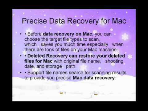 Recover Trash files MAC with Mac data recovery software