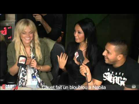 image vidéo Cauet fait un bloublou à Nabila de Hollywood Girls