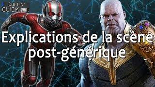 ANT-MAN ET LA GUÊPE : La scène post-générique expliquée !
