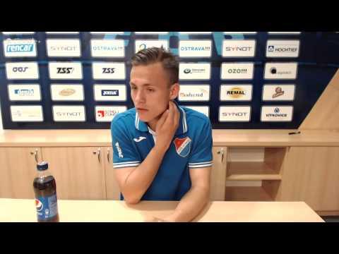 Tisková konference FC Baník Ostrava před utkáním s SK Dynamo České Budějovice