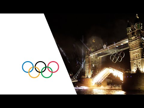 Torch Montage including David Beckham - Opening Ceremony - London 2012 Olympic Games