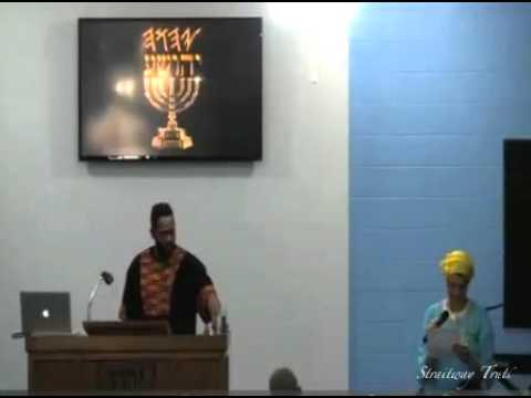 Sabbath Service 04-13-13 | True History of Israel |