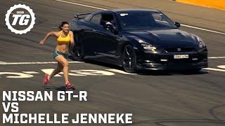 Nissan GTR Vs a Woman - Top Gear Festival Sydney