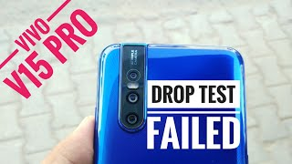 VIVO V15 PRO DROP TEST | HALF TECH