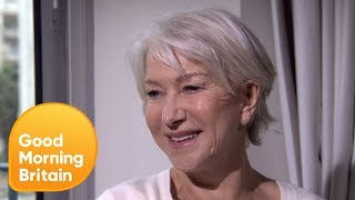 Helen Mirren Shows You the Correct Way to Touch Your Toes | Good Morning Britain