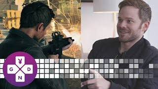 EXCLUSIVE Shawn Ashmore of Quantum Break Plays as Himself! | 10 Minute Gameplay