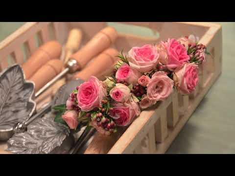 Tocado de flores naturales de VerdePimienta