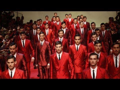 Dolce & Gabbana Spring Summer 2015 Mens Fashion Show Milan Fashion Week HD