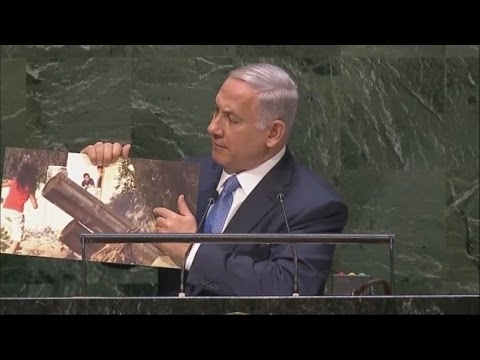 Israel : Prime Minister Netanyahu speech at the United Nations General Assembly (Sept 29, 2014)