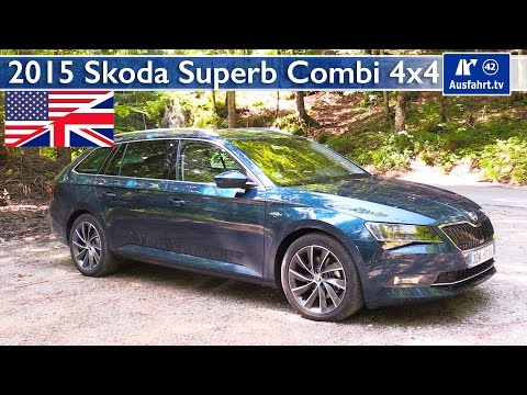 2015 Skoda Superb Combi 4x4 - Test. Test Drive and In-Depth Review (English)
