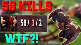 58 KILLS with BLOODSEEKER WTF?! (DOTA 2)