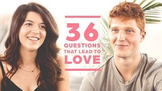 Can 2 Strangers Fall in Love with 36 Questions? Dani + Andrew