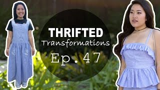 Matching Peplum Set | Thrifted Transformations Ep. 47