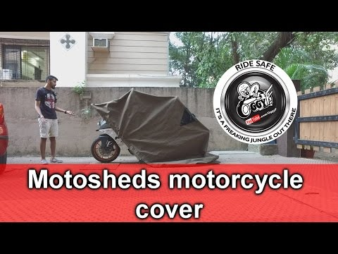Review - Motosheds Motorcycle cover
