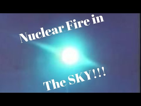Space Nuclear Weapon Test