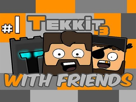 Minecraft: Tekkit With Friends Ep.1 - Mining, Mining, MINING!