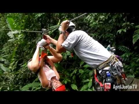 ZIPLINING! Canopy Safari Costa Rica Vacation Day 4!