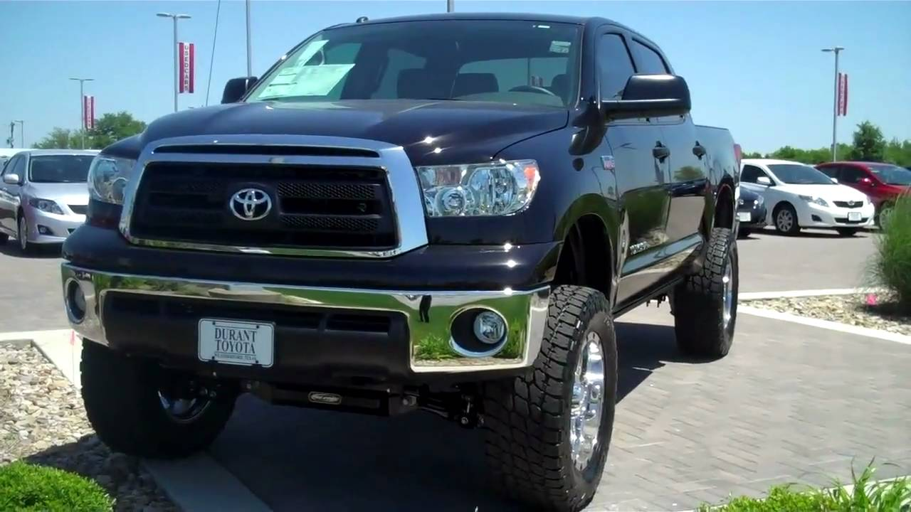 2010 Toyota Tundra Lifted Version Youtube