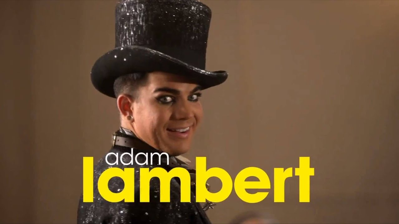 Adam Lambert Marry The Night Glee YouTube